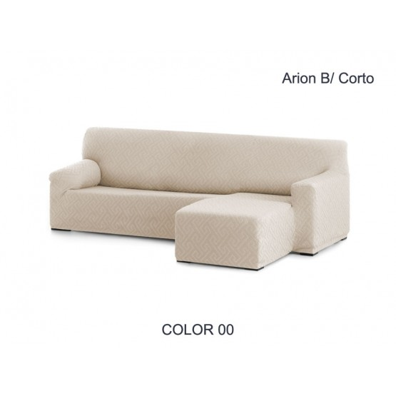 FUNDA CHAISE LONGUE AJUSTABLE ARION – BRAZO CORTO