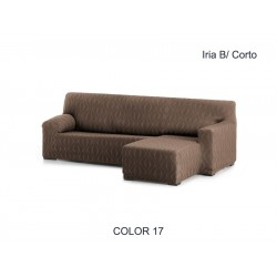 FUNDA CHAISE LONGUE AJUSTABLE IRIA – BRAZO CORTO