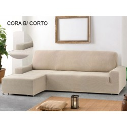 FUNDA CHAISE LONGUE AJUSTABLE CORA – BRAZO CORTO