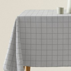 MANTEL ANTIMANCHAS ECO SQUARE GRIS