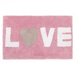ALFOMBRA LOVE ROSA
