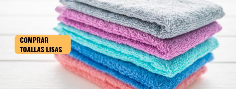 Comprar toallas lisas | Toallas de baño