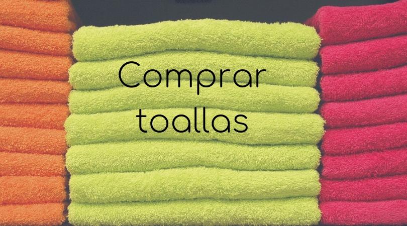 comprar toallas