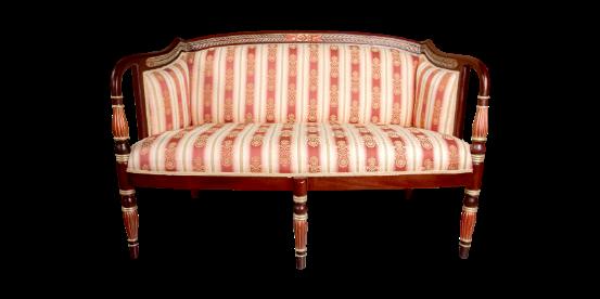 origen del sofá